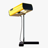 desk lamp samp manade 3d model