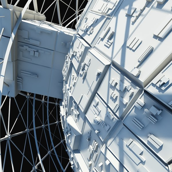 3d space station model for Space station 13 3d
