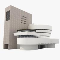 guggenheim museum 3d model