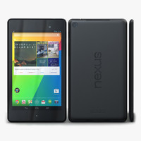 3d model asus google nexus 7