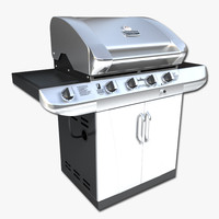 3ds max gas grill