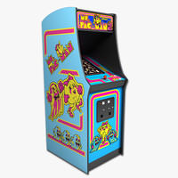 Ms Pac-Man Arcade Machine