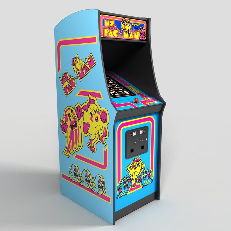 Ms Pacman Cabinet Ms Pacman Arcade Machine Pictures To Pin On Pinterest Pinsdaddy