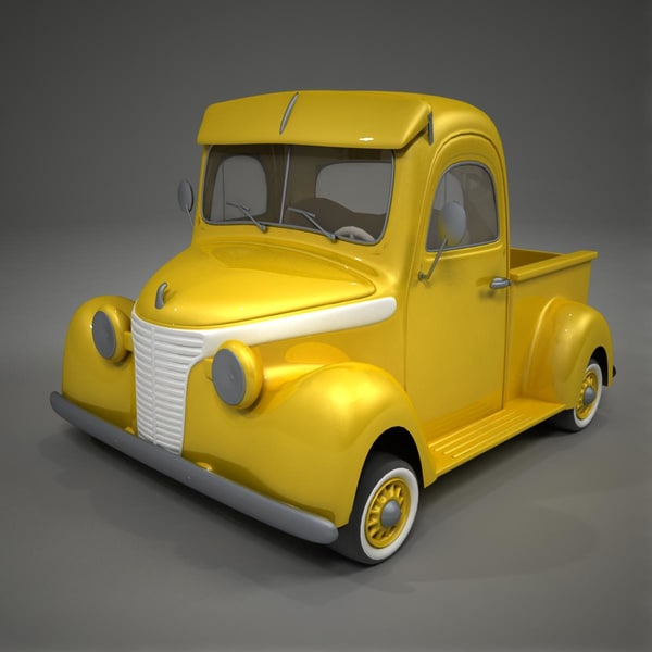 3ds toon car studebaker 1937 - Studebaker 1937 Toon Car... by German Lagna