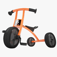 3ds max winther circleline tricycle