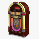 jukebox 3D models
