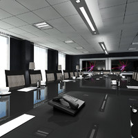 maya office boardroom interior
