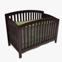 infants crib 3d model