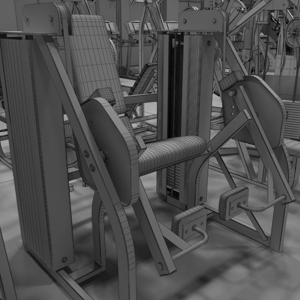 max fitness center - Fitness Center... by monkeyodoom