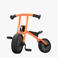 winther circleline bicycle 3d model