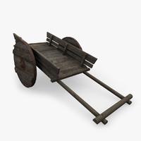 3d max medieval cart