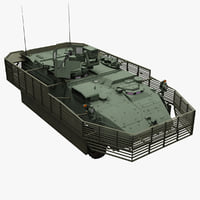 m1131 stryker support vehicle 3d 3ds