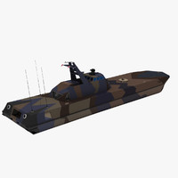 p-960 knm skjold fast 3d model