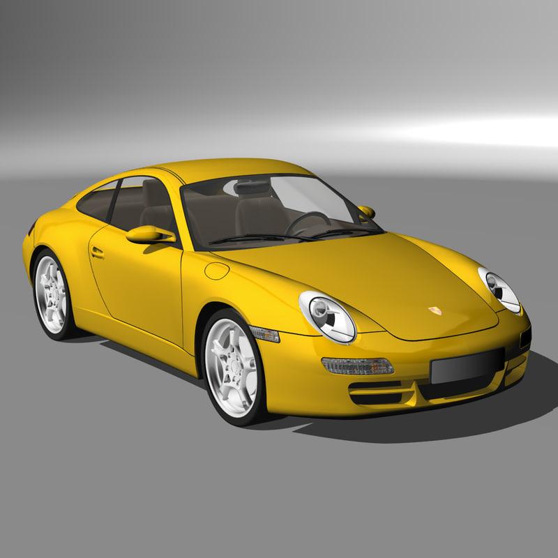 2005 Porsche 997 Engine Specs: Porsche 997 2005 3d 3ds