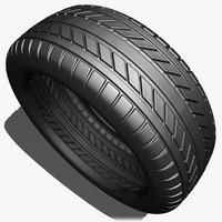3ds car tire