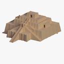 ziggurat 3D models