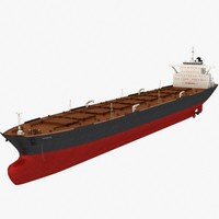 Oil Tanker Ship (VLCC - Very Large Crude Carrier)