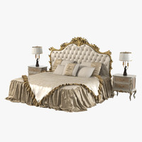3d model giusti portos amadeus bedroom