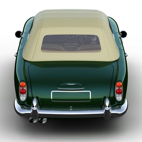 Aston Martin Db4 Convertible 3d 3ds