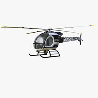 3d helicopter police