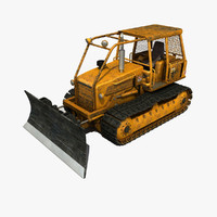 bulldozer modeled max