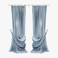 curtains blue garters max