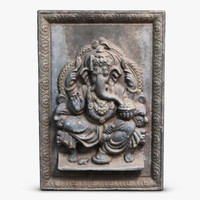 Ganesh Icon Bas-relief