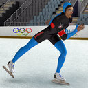 speed skater 3D models