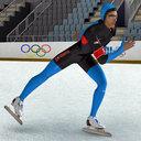 speed skater 3D models