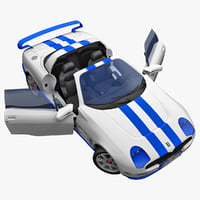 sports car tomaso bigua 3d max