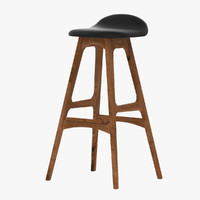 max erik buck bar stool