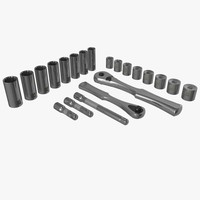 3d socket wrench set