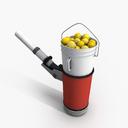Tennis Ball Machine 3D models