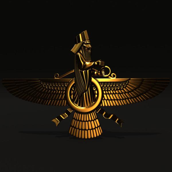 Faravahar Symbol Meaning Image Information