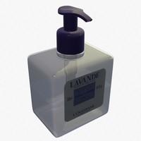 3d model au perfume