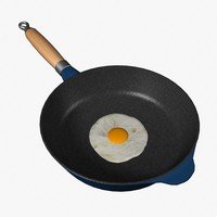 3ds max fried eggs