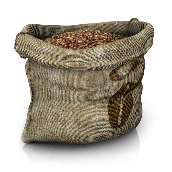 3d sack beans model - Sack of Beans... by bubble3D