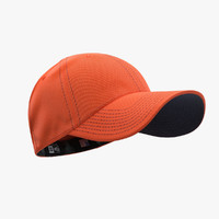 - cap orange blue 3d model