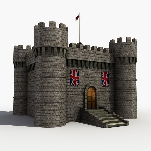 3ds max castle medieval - Medieval Castle... by 3D Graphics