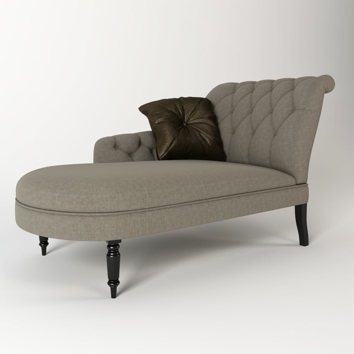 3d model eichholtz chaise for Chaise modele