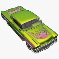 3d realistic chevrolet impala tuned model