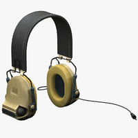 Military Peltor Com-Tac II Headset 2