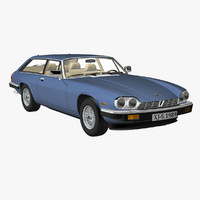 3d jag eventer model