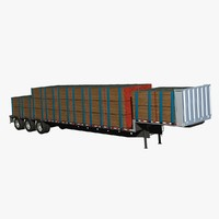 doonan axle drop deck 3d model