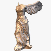 Statue Nike of Samothrace low