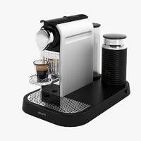 krups xn 7102 nespresso 3d model