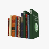 books printed sheets 3d max