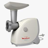 3d meat grinder model