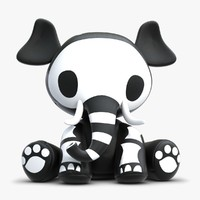 Skelanimal Elle Elephant Toy