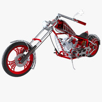 Black Widow OCC Chopper Bike